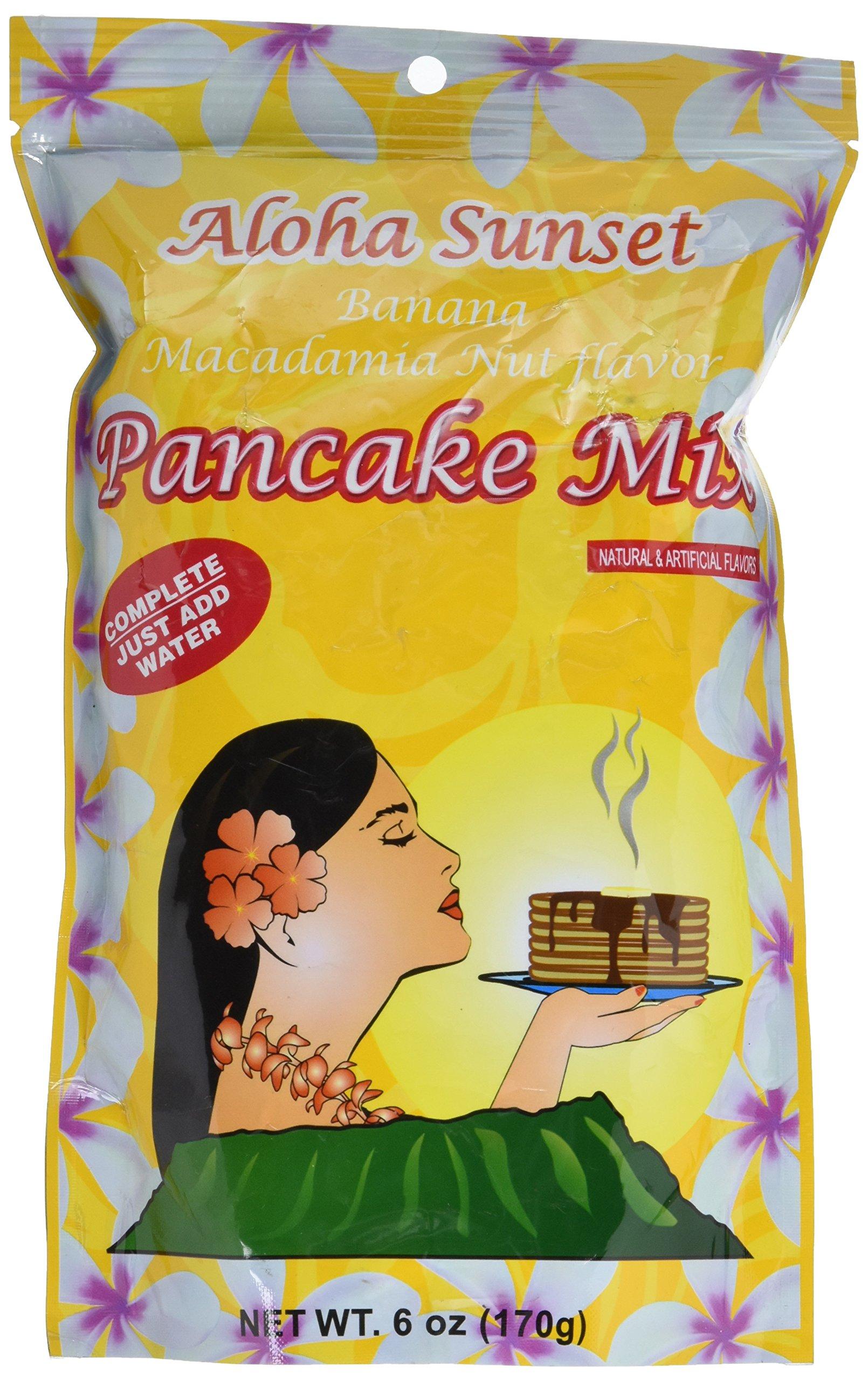 Banana Macadamia Nut Pancake Mix From Hawaii