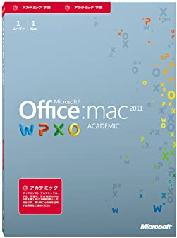Office for Mac Academic 2011