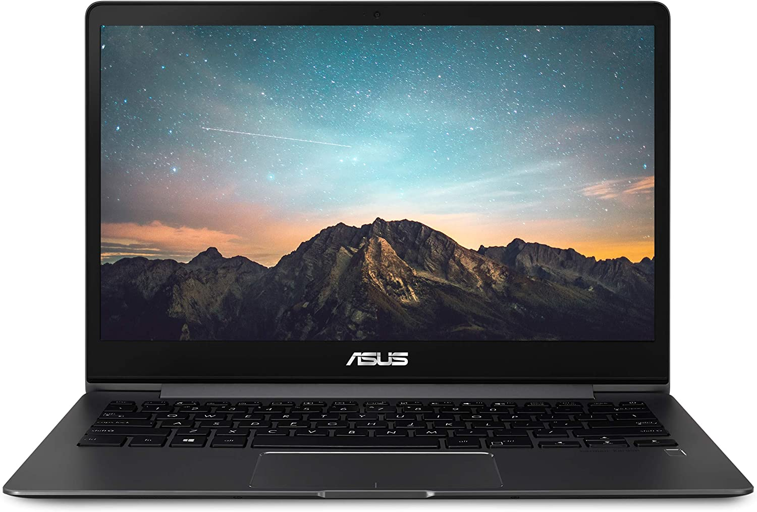 "ASUS ZenBook 13 Ultra-Slim Laptop 13.3"" FHD WideView Touch, 8th Gen Intel Core i5-8265U Processor, GeForce MX150, 8GB LPDDR3, 256GB SSD, Backlit KB, Fingerprint, Windows 10 - UX331FN-DH51T, Slate Grey"