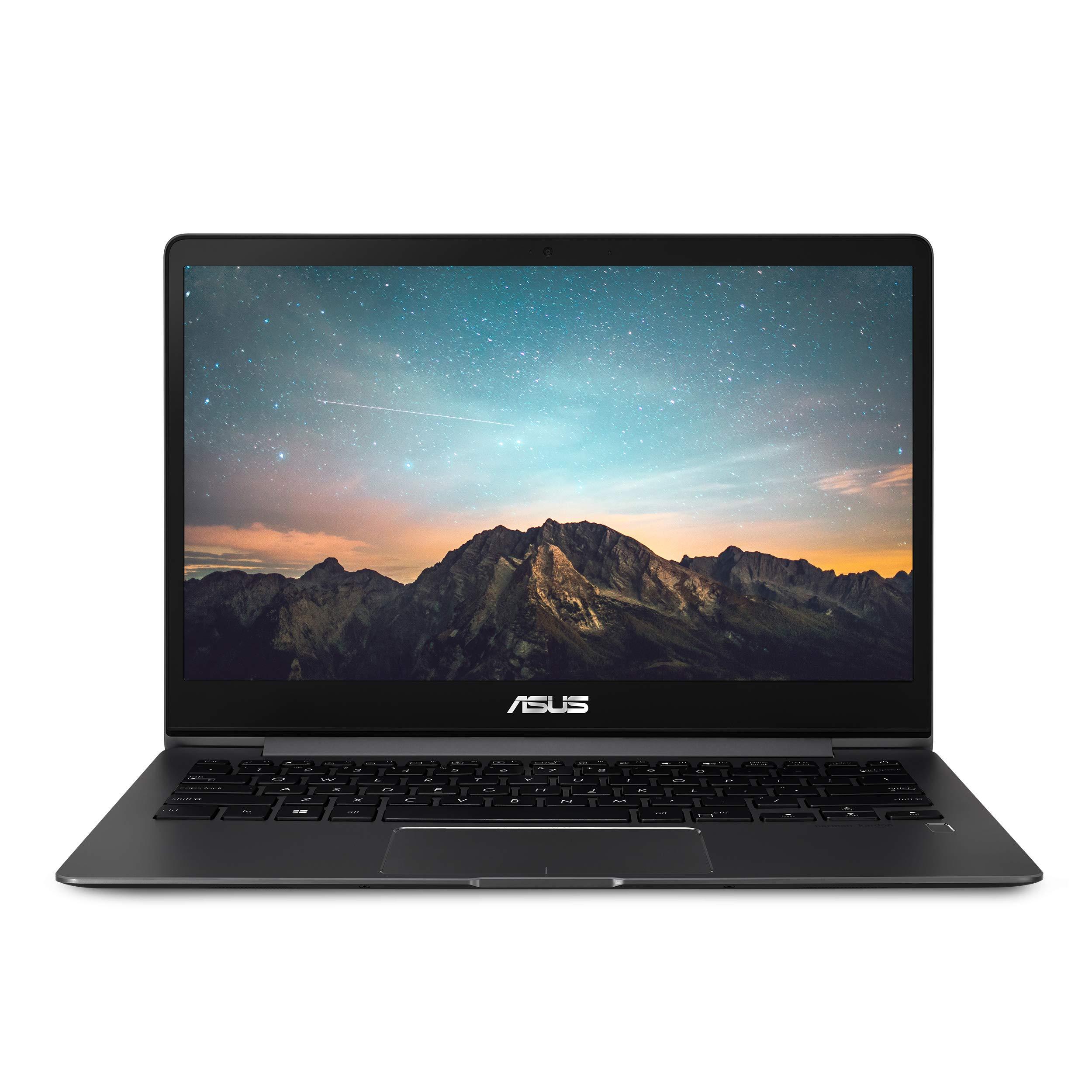 Asus ZenBook 13 Ultra-Slim Laptop, 13.3'' Full HD Wideview, 8th Gen Intel Core I5-8265U, 8GB LPDDR3, 512GB PCIe SSD, Backlit KB, Fingerprint, Slate Gray, Windows 10, UX331FA-AS51 by ASUS