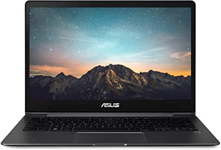 "ASUS ZenBook 13 Ultra-Slim Laptop- 13.3"" Full HD Wideview, 8th Gen Intel Core I5-8265U, 8GB LPDDR3, 512GB PCIe SSD, Backlit KB, Fingerprint, Windows 10- UX331FA-AS51 Slate Grey"