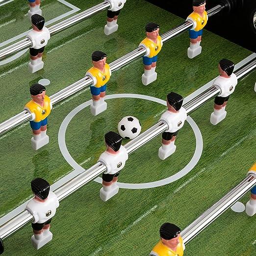 Klarfit • – Mesa de futbolín de mesa fútbol • pelotas de futbolín ...