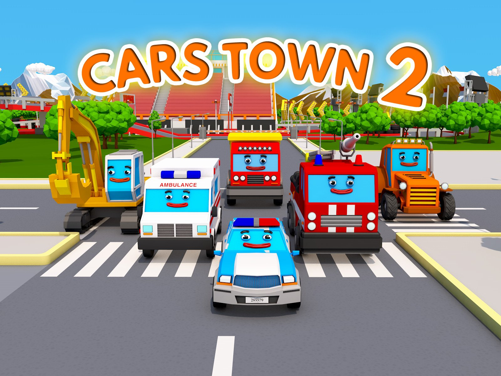 Cars Town 2 on Amazon Prime Video UK