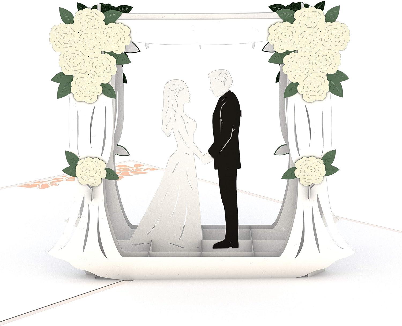 Wedding Cards Lovepop Wedding Florals Pop Up Card 3D Card Congratulations Cards Greeting Card