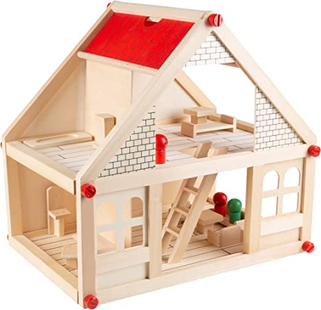 Details about  /Set Doll Puzzle Room Furniture Furniture Gift Puzzle House House Wooden DIY