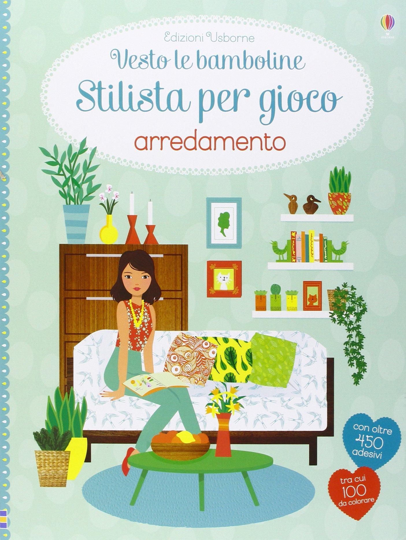 Amazon.it: Arredamento. Vesto le bamboline. Con adesivi. Ediz ...