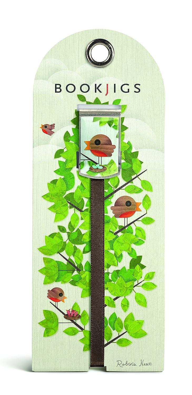 Regalo Trenz Franklin molinillo para de Robin nido para molinillo las aves bookjig (1027) 0a83d9
