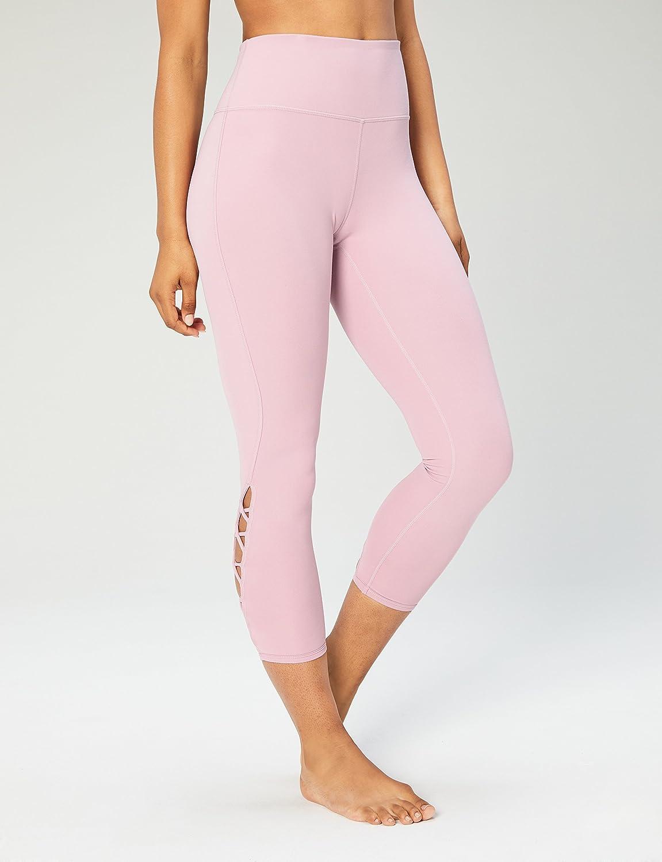 24 WAI18020/_B Core 10 Womens High Waist Yoga Lattice 7//8 Crop Legging XS-XL, Plus Size 1X-3X