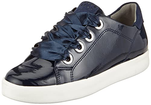 separation shoes df8ba b7f68 Marco Tozzi 23763, Women's Low-Top Sneakers, Blue (Navy Pat ...