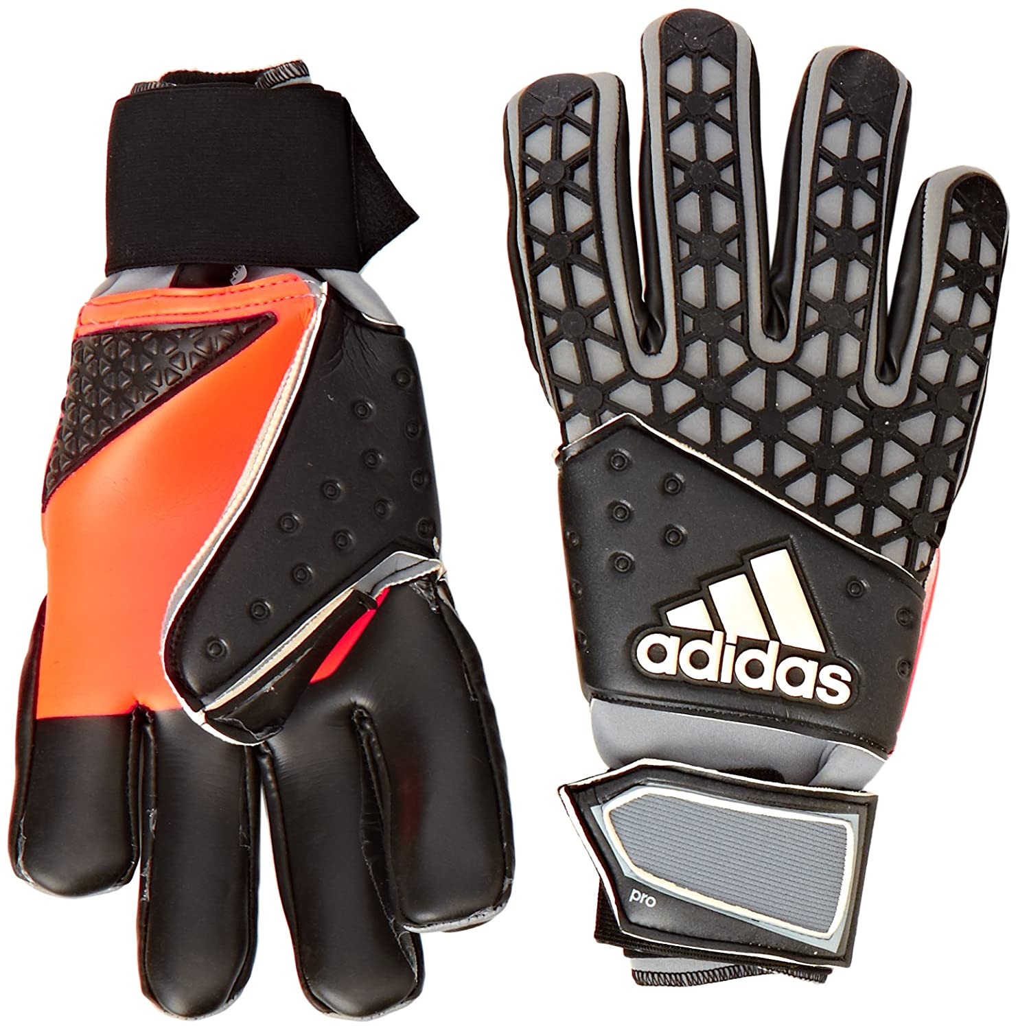 huge discount 62acc 98a47 ... spain adidas torwarthandschuhe ace zones pro iker casillas white black  grey 12 s90271 amazon.de