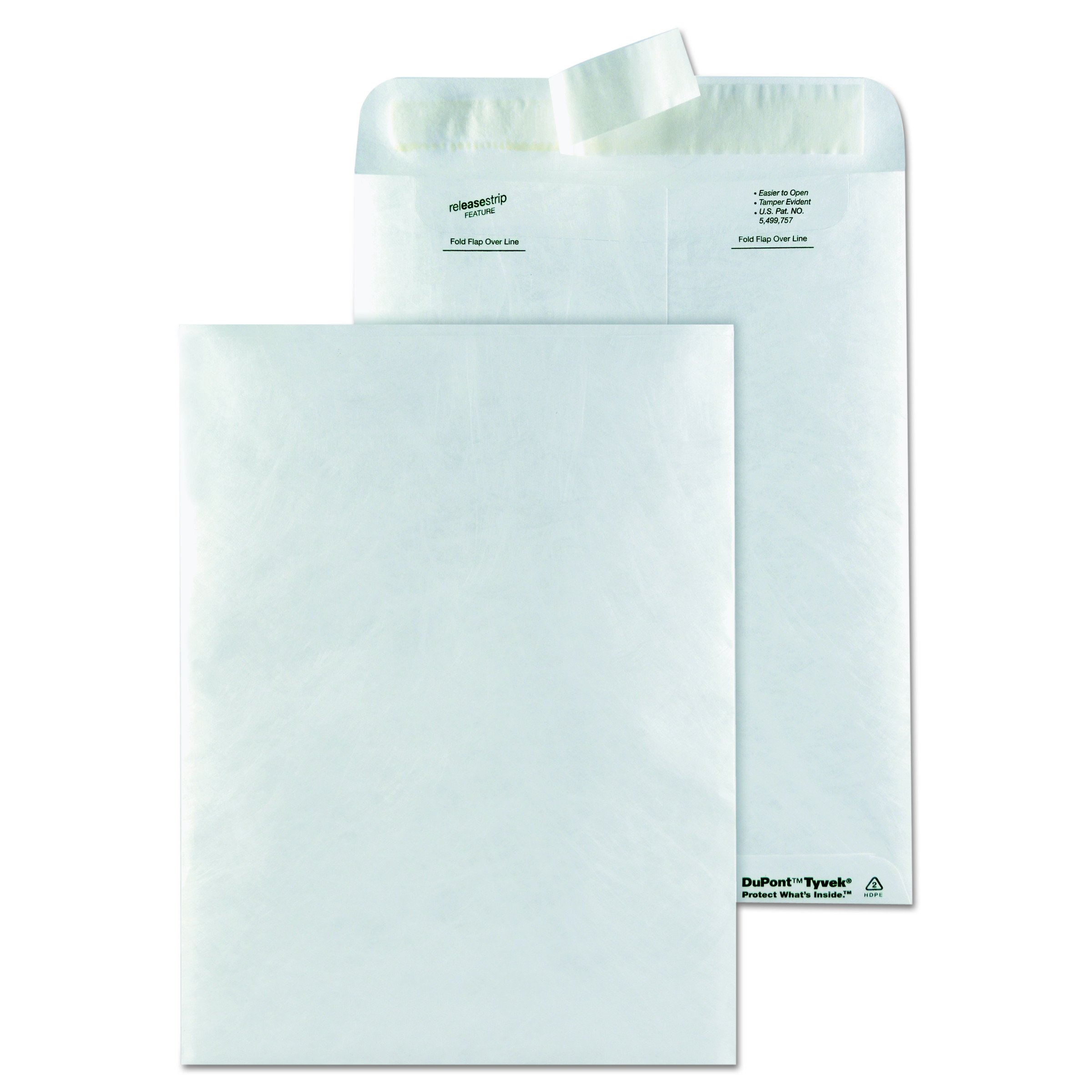 Quality Park 9x12 Envelopes, White, Box of 50 (R1462)