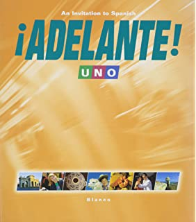Adelante uno an invitation to spanish 2nd edition vista higher adelante 1 uno student edition with supersite code fandeluxe Image collections