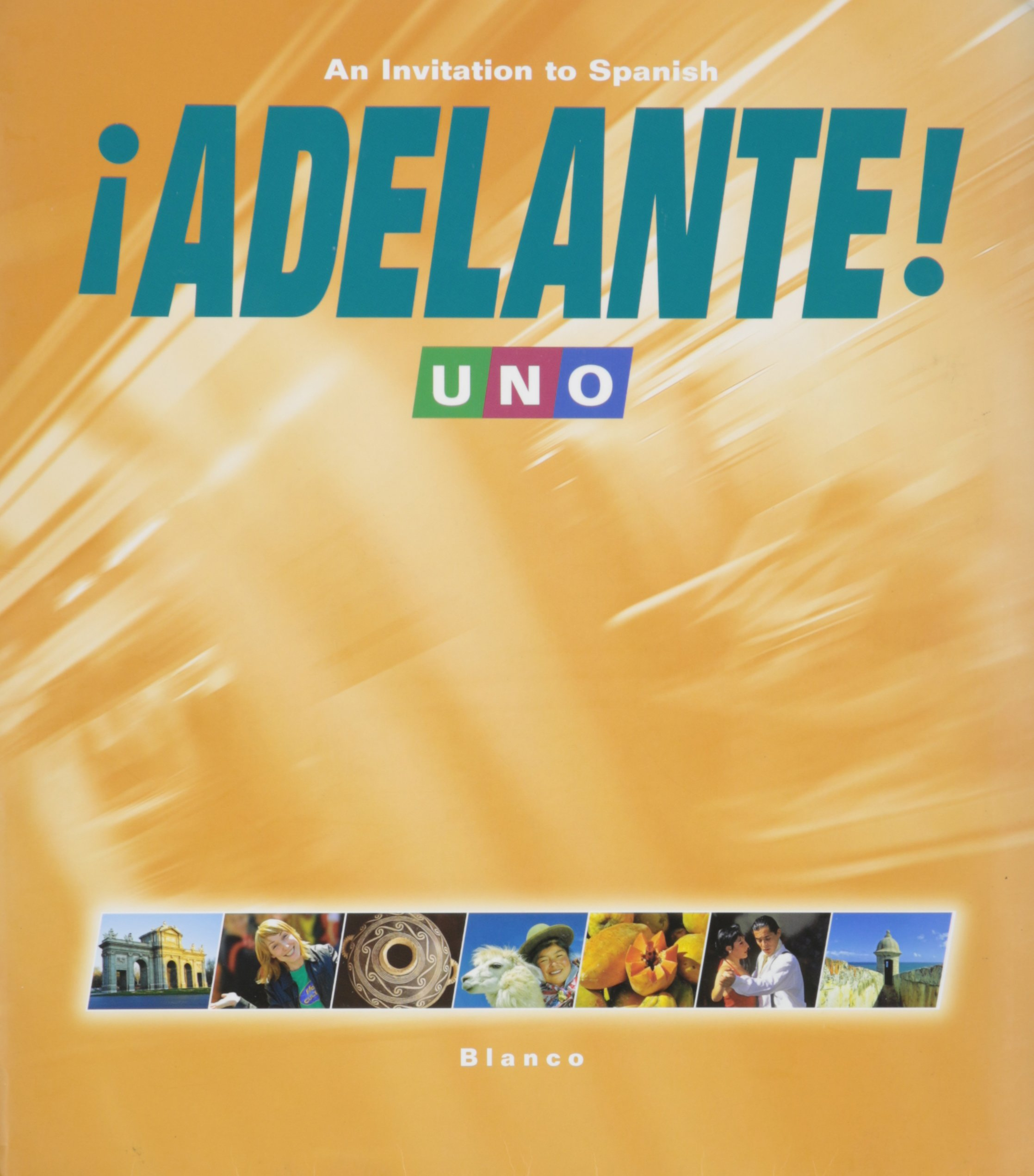Adelante 1 (Uno) Student Edition with Supersite Code: vhl