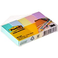 Post-It 670-5AP Marseille Page Markers, 100 Sheets/Pad, 5 Pads/Pack
