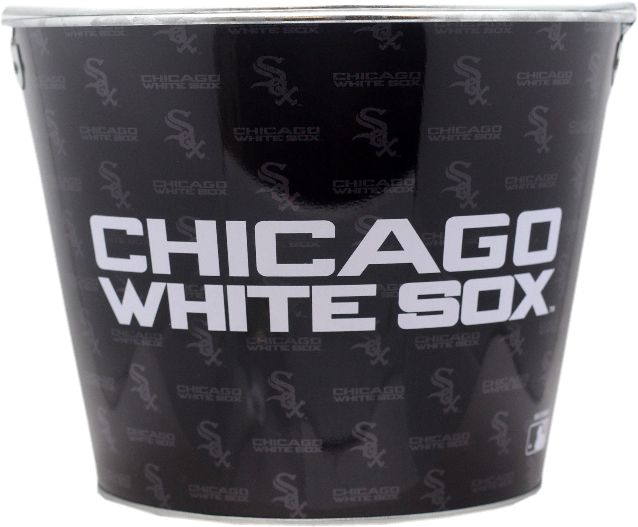 Chicago White Sox Beer Bucket Metal 2-Sided 4567 by St Louis Wholesale, LLC (Image #2)