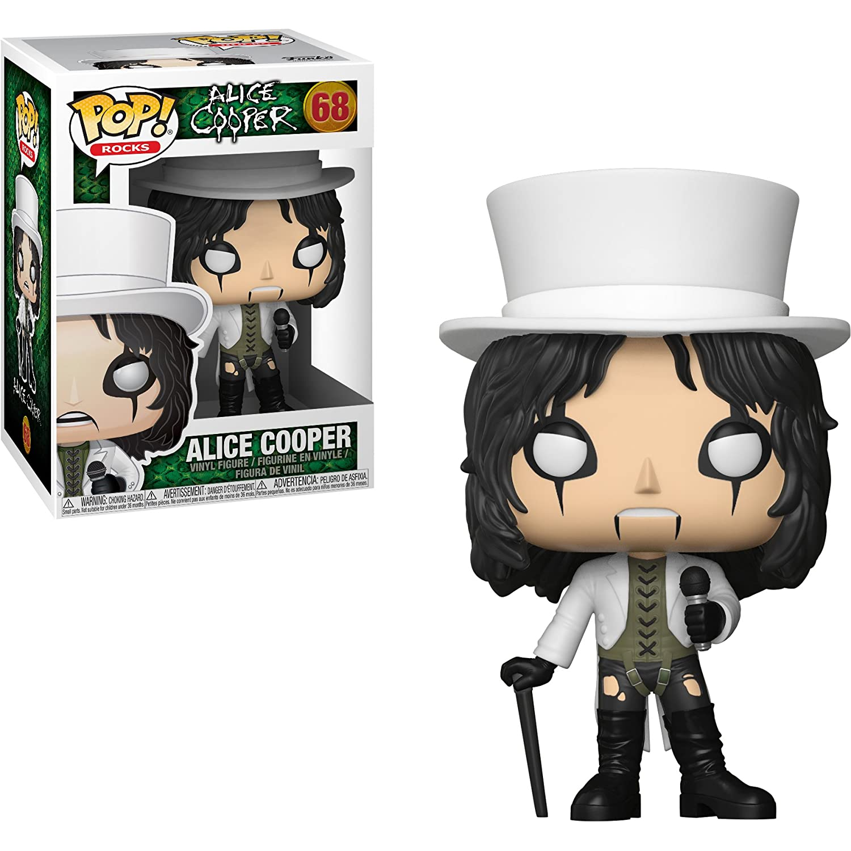 #068 // 30206 - B Compatible PET Plastic Graphical Protector Bundle Rocks Vinyl Figure /& 1 POP Alice Cooper: Funko POP