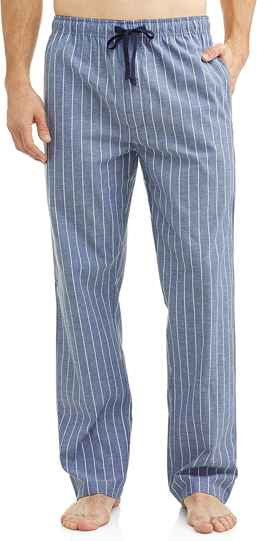Hanes Men's & Big Men's Woven Plaid Stretchy Sleep Pant
