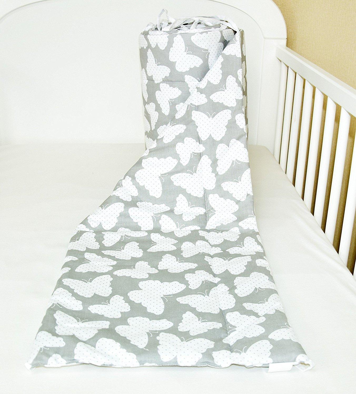 Amilian® Bettumrandung Nest Kopfschutz Nestchen 420x30cm 180x30... 360x30cm