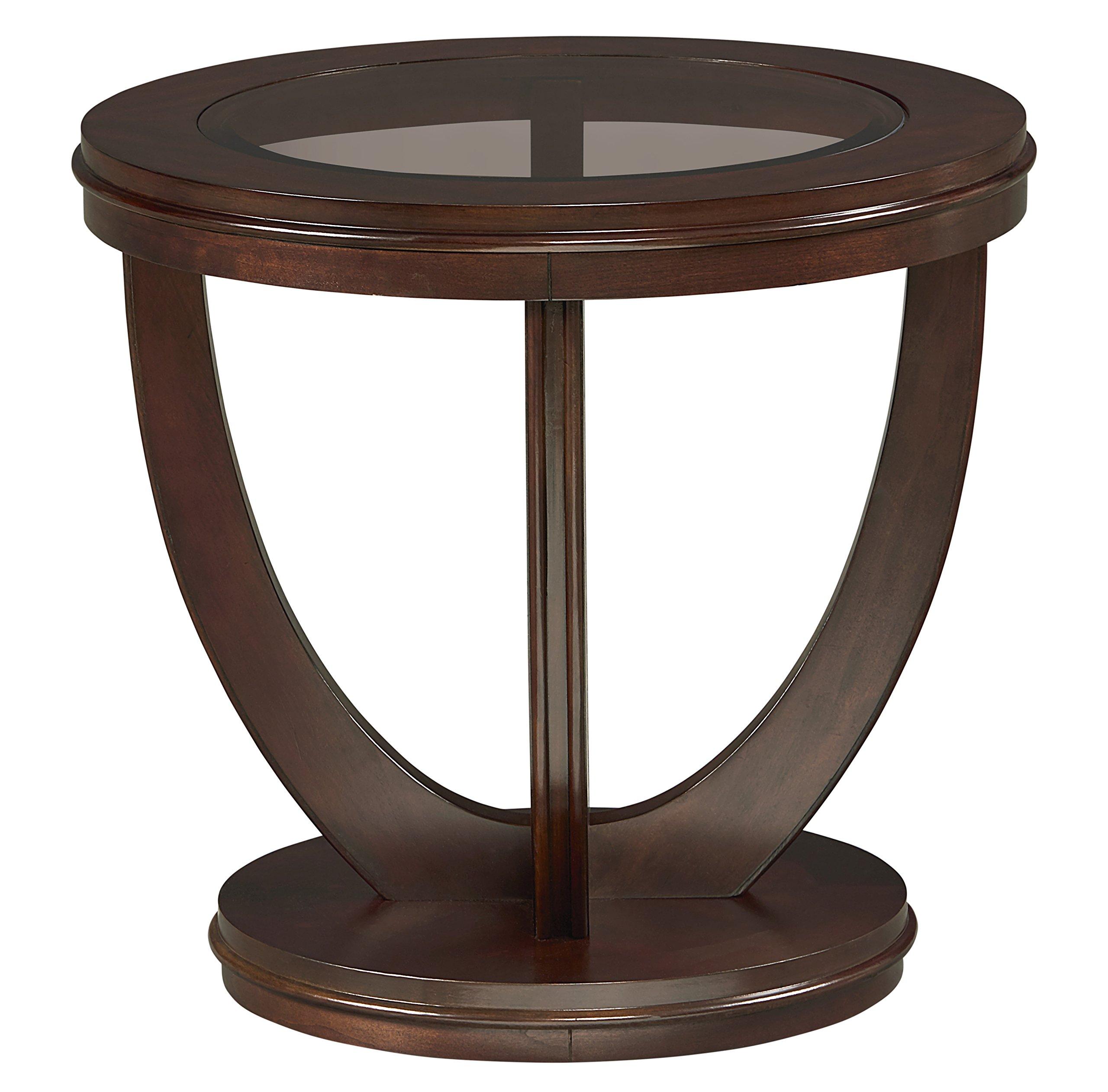 Standard Furniture 23762 La Jolla End Table, Brown by Standard Furniture