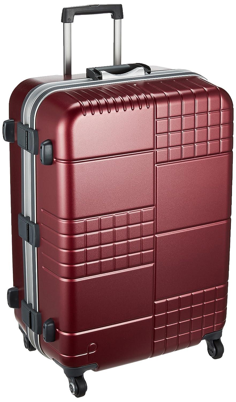 [プロテカ] スーツケース ブロックパック サイレントキャスター ハンガー付保証付 90L 66cm 5.3kg 00763 B074BZ46KGコロナレッド