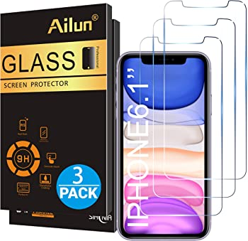 3-Pack Ailun Glass Screen Protector