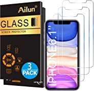Ailun Glass Screen Protector for iPhone 11/iPhone XR 6.1 Inch 3 Pack Tempered Glass Screen Protector for Apple iPhone 11/iPho