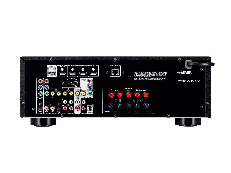 Yamaha RX-V473 - Amplificador (8100 g) color negro [importado]: Amazon.es: Electrónica