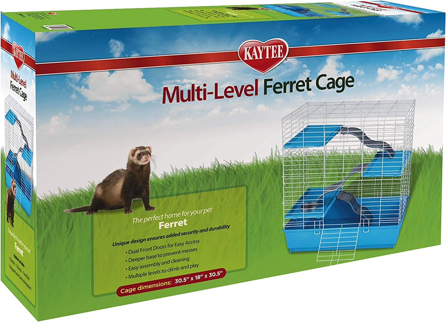 Kaytee Multi Level Ferret Home