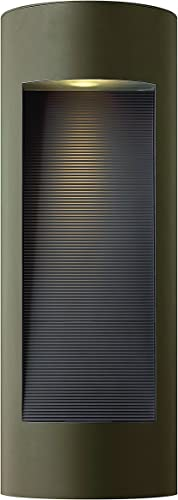 Hinkley 1664BZ-LED Contemporary Modern Two Light Wall Mount from Luna collection in Bronze Darkfinish,