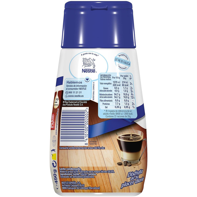 Nestlé La Lechera Leche condensada - Botella de leche condensada Sirve Fácil - Caja de 12 x 450 g: Amazon.es: Alimentación y bebidas