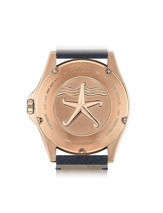 Mido Reloj de Hombre automático analógico Caja de M0264303604100: Amazon.es: Relojes