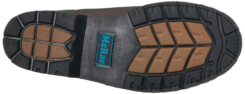 MCRAE Mens Mid Calf Boot Brown-2 16 M US