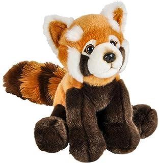 Amazon Com Fiesta Toys Lay Down Animal Plush 16 5 Red Panda