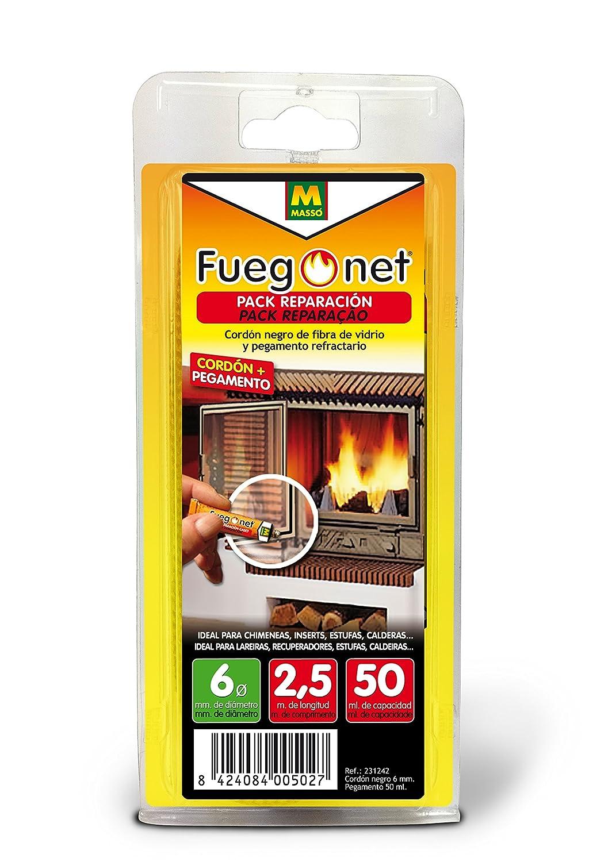 FUEGO NET Fuegonet 231242 Cordón, Negro, 11 x 3 x 22 cm Comercial Química Massó 89Q212