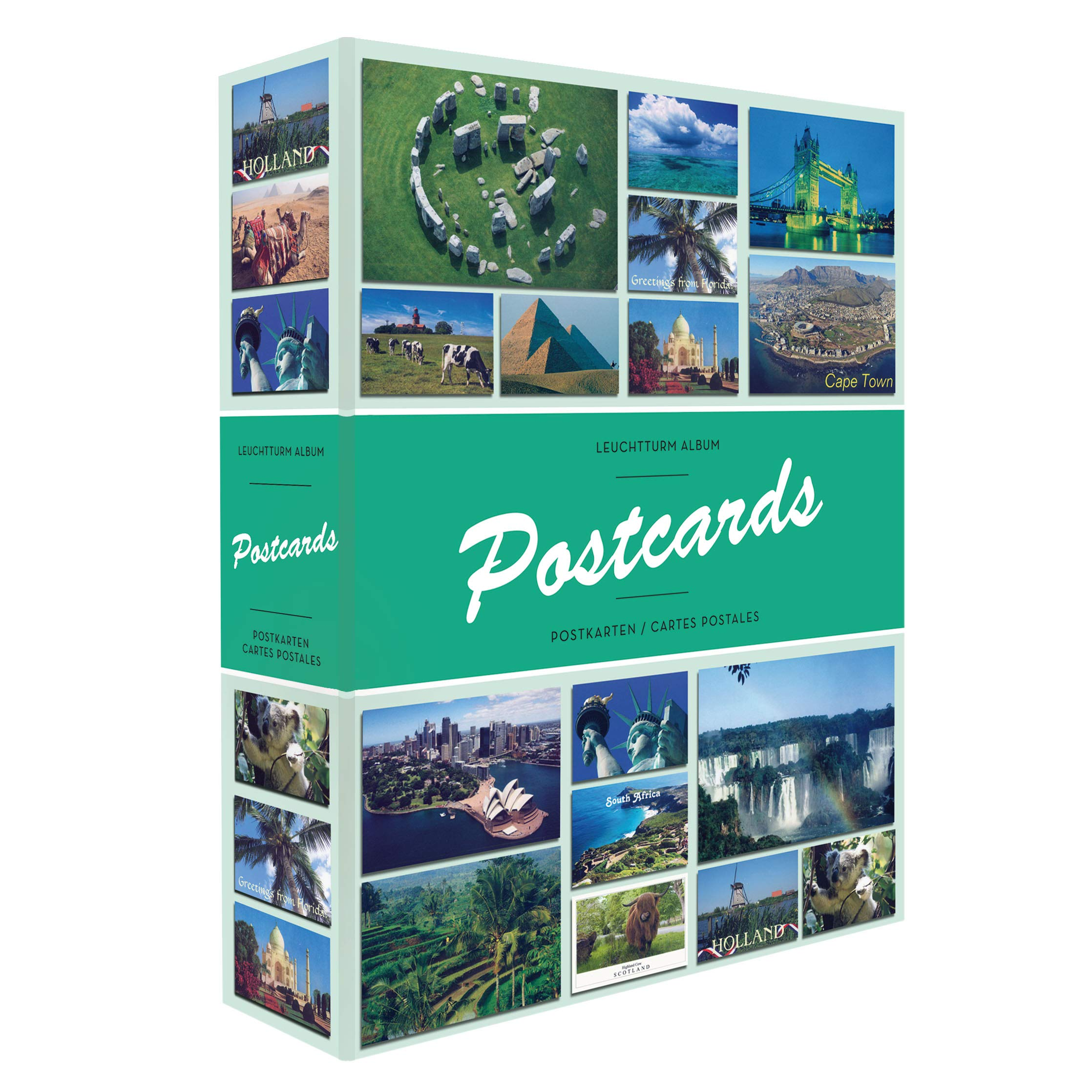 LEUCHTTURM1917 Album Postcards for 200 Postcards, with 50 Bound Sheets