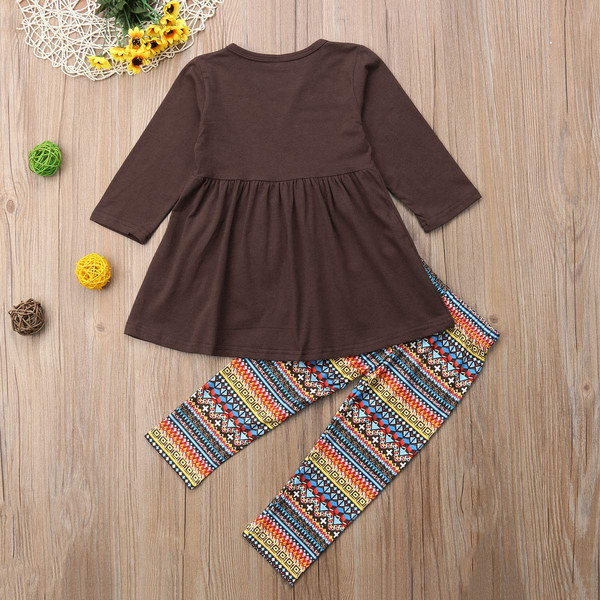 Amazon.com: Urkutoba – Vestido de Acción de Gracias 2-7T ...