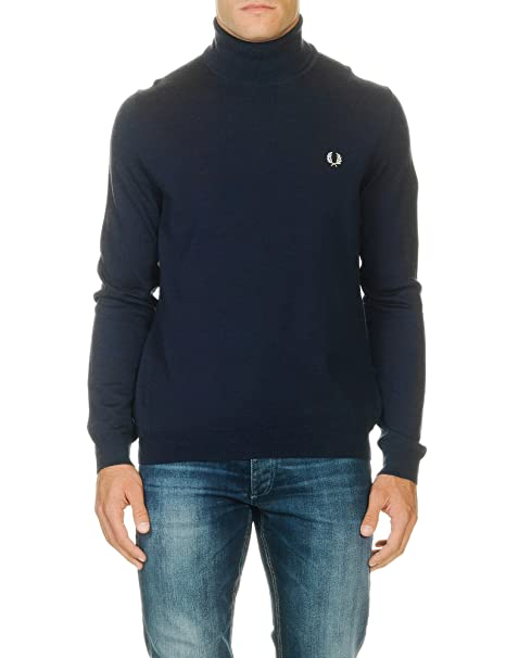 Fred Perry T-shirt-Navy-Outlet SALE OFFERTA