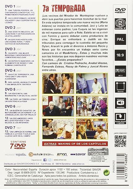 La Que Se Avecina - Edición 7 [DVD]: Amazon.es: Jordi Sánchez, Laura Caballero, Jordi Sánchez, No disponible: Cine y Series TV