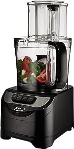 Oster FPSTFP1355 2-Speed 10-Cup Food Processor, 500-watt (Renewed)