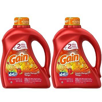 amazon com gain liquid laundry detergent apple mango tango scent