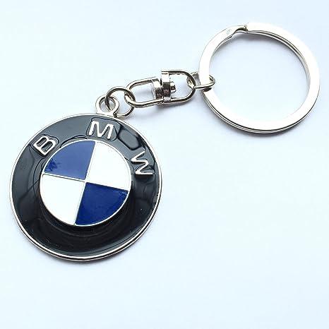 Llavero, diseño de logo de BMW metal Llavero Llavero: Amazon ...
