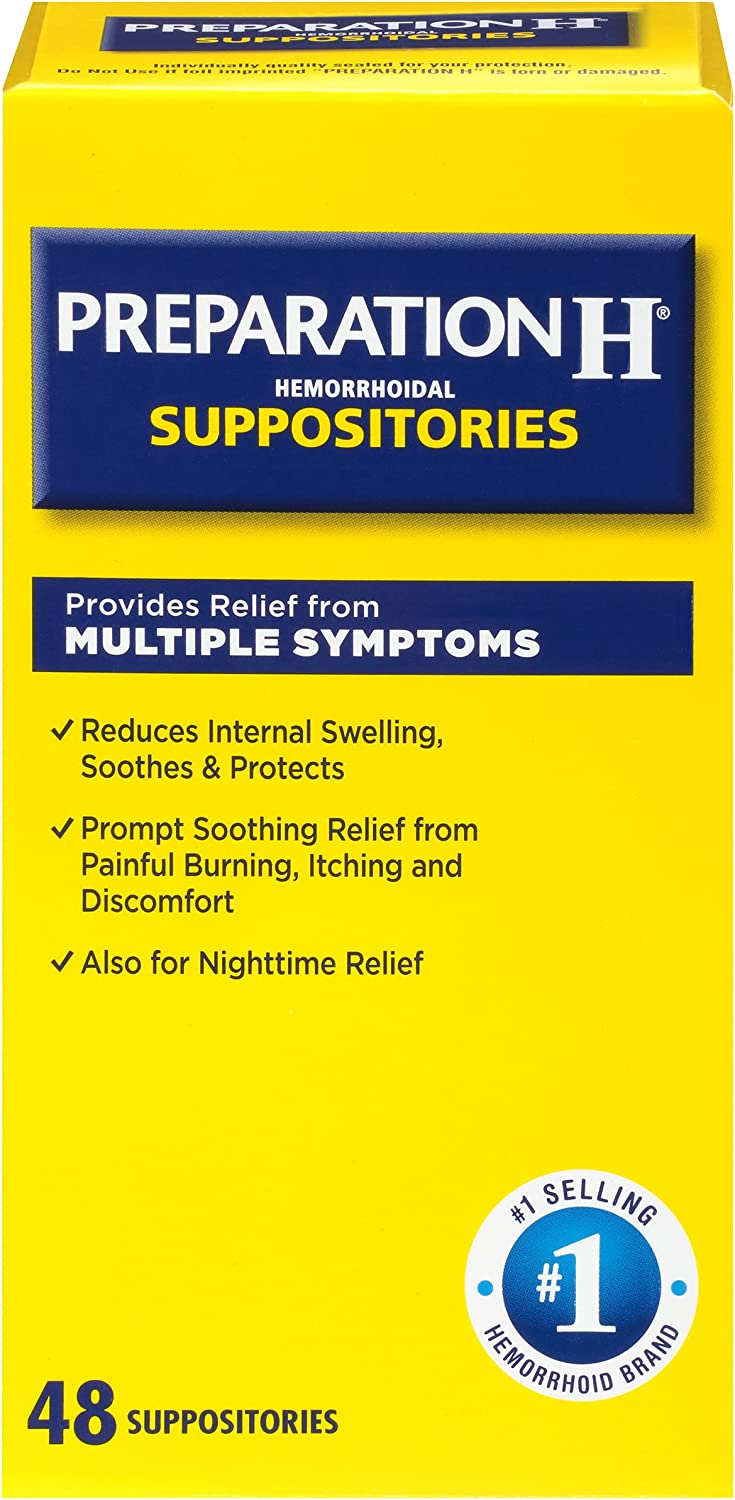 That is a BUNCH of suppositories!