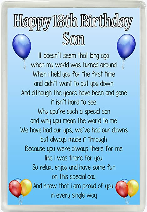Happy Birthday Son Poems From Mom 1