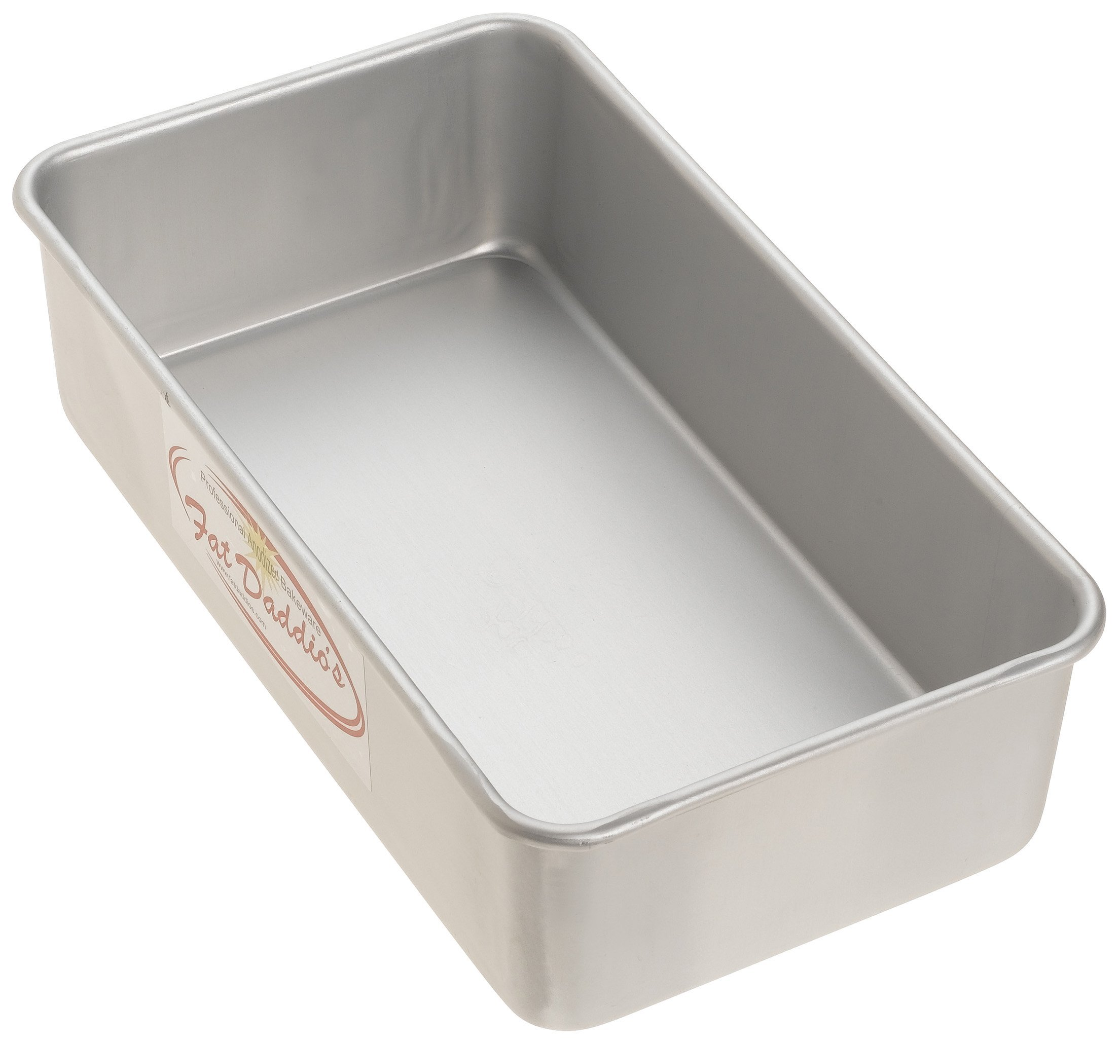 Fat Daddio's BP-5643 Anodized Aluminum Bread Pan Single, 9 Inches by 5 Inches by 2 1/2 Inches