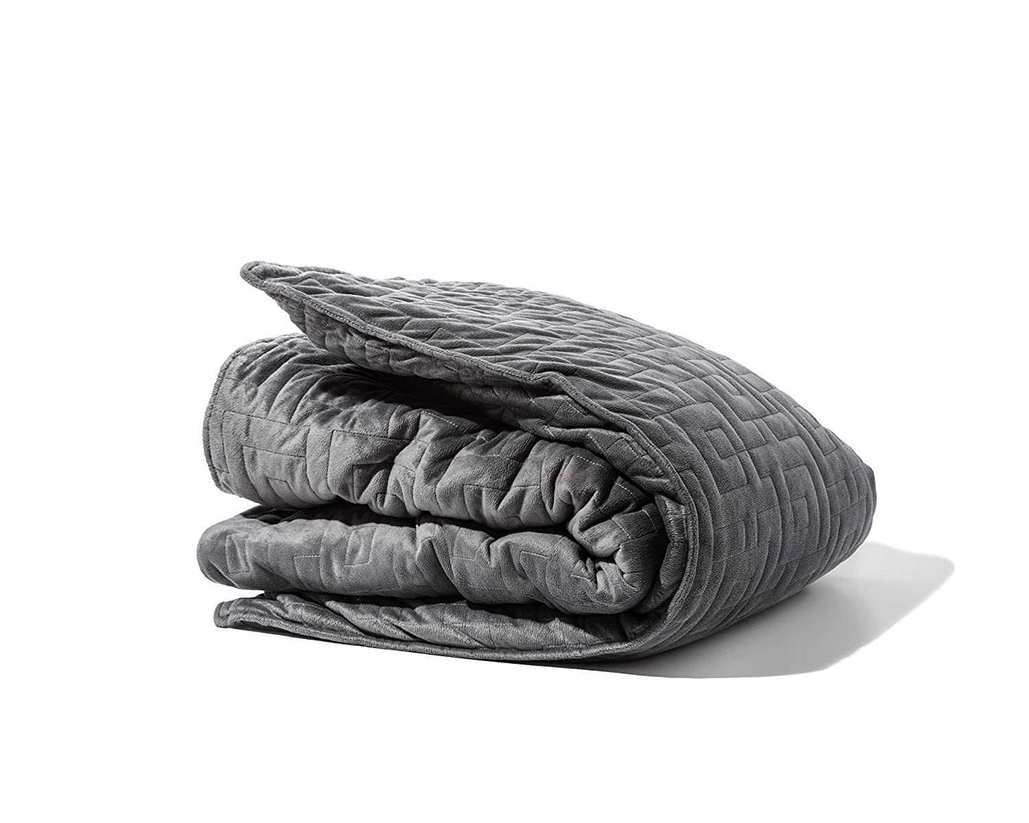 """Gravity Blanket: The Weighted Blanket For Sleep, Stress and Anxiety, Space Grey 48"""" x 72"""" Size, 25-Pound sleep blankets Sleep blankets review – benefits of sleeping with weighted blankets 81e3ztxG5 L"""