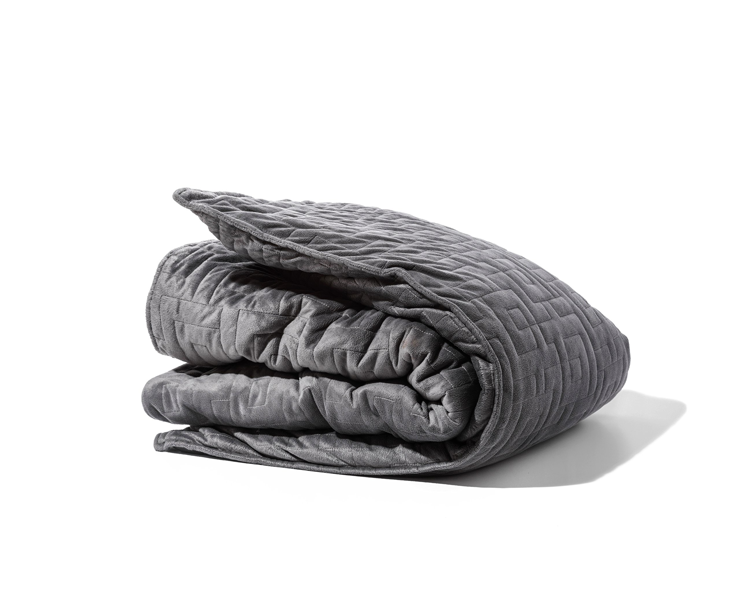 Gravity Blanket: The Weighted Blanket For Sleep, Stress and Anxiety, Space Grey 48'' x 72'' Size, 20-Pound