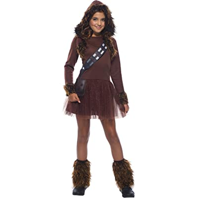 Rubie's Girls Star Wars Classic Chewbacca Costume, Large: Toys & Games