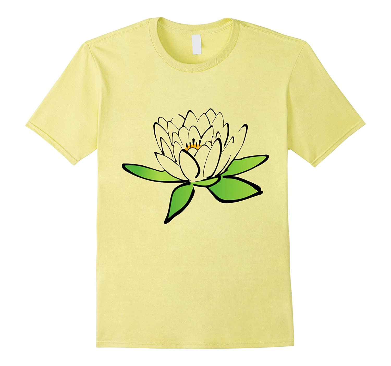 Pretty Lotus Flower T Shirt Delicate Flower Buddhist Symbol Fl
