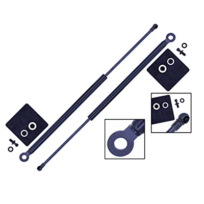 2 Pieces (Set) Tuff Support Hatch Lift Supports 1986 To 1989 Acura Integra Models Ls, Rs & Ls Special Edition: Automotive