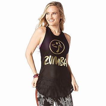Zumba Fitness Z1T01323 Débardeur Femme 2c6ee640fbe